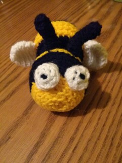 http://www.ravelry.com/patterns/library/amigurumi-burnie-the-bee