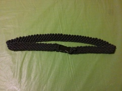 http://www.instructables.com/id/How-to-make-a-Paracord-Rescue-Belt/